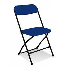 Nowy Styl Polyfold K-58 Krzesło składane granatowe