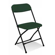 Polyfold K-59 Krzesło składane zielone