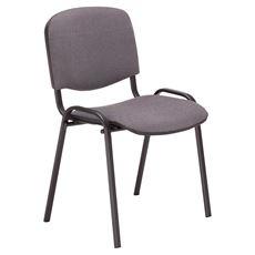 Nowy Styl Krzesło konferencyjne Iso Black CU-73 szare
