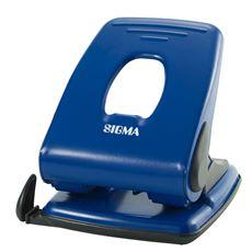 Sigma 518 Dziurkacz niebieski 40 kartek