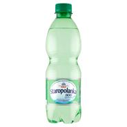 Staropolanka Naturalna woda mineralna średniozmineralizowana gazowana 500 ml 12 sztuk