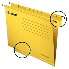 Esselte Pendflex Teczka zawieszana standardowa żółta A4