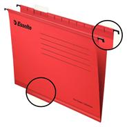 Esselte Pendflex Teczka zawieszana standardowa czerwona A4