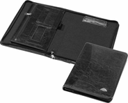 Panta Plast teczka A4 skóropodobna na suwak, kolor czarny