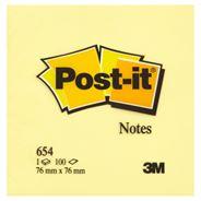 Post-it Karteczki samoprzylepne żółte 100 karteczek 76x76 mm 12 sztuk
