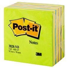 Post-it Kostka cukierkowa 450 karteczek 76x76mm