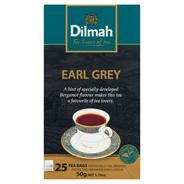 Dilmah Earl Grey Czarna herbata 50 g (25 torebek)