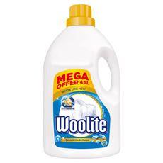 Woolite Do bieli i jasnych kolorów z keratyną Płyn do prania 4,5 l (75 prań)