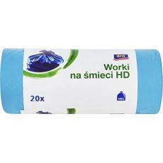 ARO Worki na śmieci niebieskie 120 l 20 sztuk