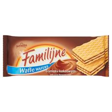 Familijne Wafle o smaku kakaowym 180 g