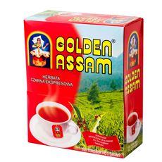 Oskar Golden Assam Cejlońska herbata czarna 200 g (100 torebek)