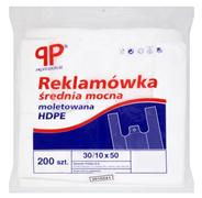 PP Professional Reklamówka średnia mocna moletowana HDPE 30/10 x 50 200 sztuk