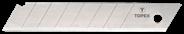 Topex Ostrza łamane wymienne 18 mm, 10 szt