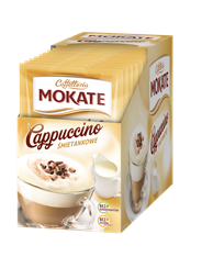 Mokate Cappuccino o smakuśmietankowym 15 g 10 sztuk