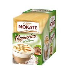 Mokate Cappuccino o smaku orzechowym 15 g 10 sztuk