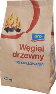 Aro Węgiel drzewny do grillowania 2,5 kg