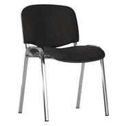 Nowy Styl Iso Chrom Krzesło czarne