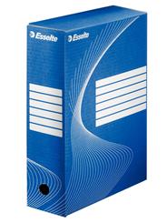 Esselte Pudełko archiwizacyjne niebieskie 100 mm