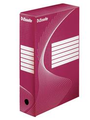 Esselte Pudełko archiwizacyjne czerwone 80 mm