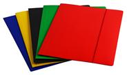 Beniamin Teczka szkolna z gumką mix kolorów A4