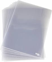 Esselte Ofertówki krystaliczne niebieskie A4
