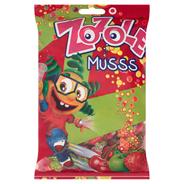 Zozole Musss Karmelki o smaku jabłkowym truskawkowym i wiśniowym z nadzieniem musującym 1 kg