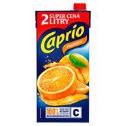 Caprio Pomarańcza Napój 2 l 6 sztuk