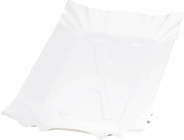 Huhtamaki Tacka papierowa prostokątna biała 26x14 cm 250 sztuk