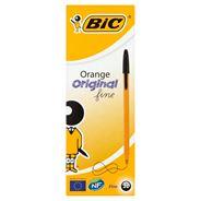 BiC Orange Original Fine Długopis czarny 20 sztuk