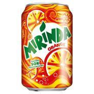 Mirinda Orange Napój gazowany 330 ml 24 sztuki