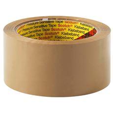 Scotch Taśma pakowa 371 Hot-melt brązowa 50 mm x 66 m