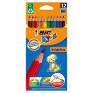 BiC Kids Evolution Kredki bezdrzewne z żywicy syntetycznej 12 kolorów