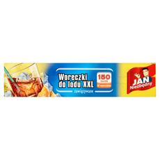 Jan Niezbędny Woreczki do lodu XXL 150 kostek 10 woreczków