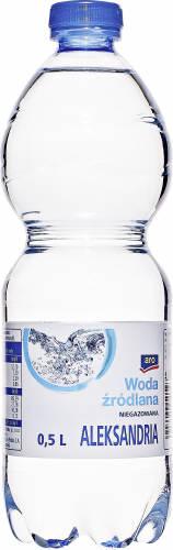 Aro Aleksandria Woda źródlana niegazowana 0,5 l 6 sztuk