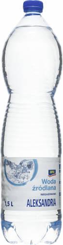 Aro Aleksandria Woda źródlana niegazowana 1,5 l 6 sztuk