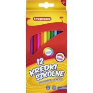 Tropik Kredki ołówkowe 12 kolorów