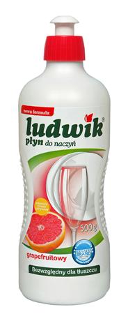 Ludwik Płyn do mycia naczyć grejfrutowy 500 ml