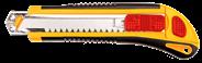 Nóż łamany Topex 18mm, 3 ostrza