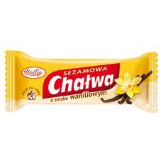 Unitop-Optima Chałwa sezamowa o smaku waniliowym 50 g