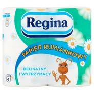 Regina Rumiankowy Papier toaletowy 3 warstwy 4 rolki