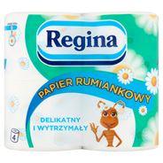 Regina Rumiankowy Papier toaletowy 3 warstwy 4 rolki 32 sztuki