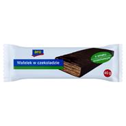 Aro Wafelek w czekoladzie o smaku orzechowym 40 g