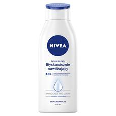 NIVEA Błyskawicznie nawilżający balsam do ciała 400 ml