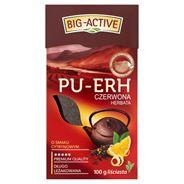 Big-Active Pu-Erh Herbata czerwona o smaku cytrynowym liściasta 100 g