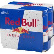 Red Bull Napój energetyczny 6 x 250 ml