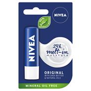NIVEA Original Care Pielęgnująca pomadka do ust 4,8 g