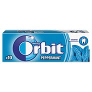 Orbit Peppermint Guma do żucia bez cukru 14 g (10 drażetek)