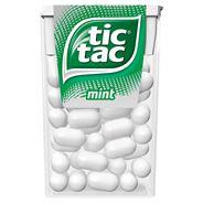 Tic Tac Mint Drażetki o smaku miętowym 18 g 24 sztuki