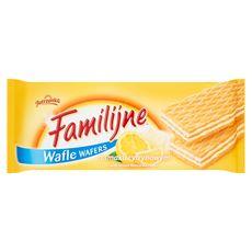 Familijne Wafle o smaku cytrynowym 180 g