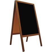 Feniks Tablica podwójna czarna 118x61 cm